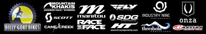 Horizontal Logo Strip White